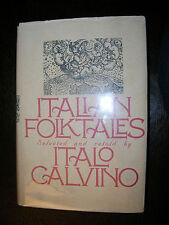 Italian Folktales By Italio Calvino 1980 B&W Illustrations Terrific Condition!