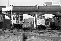 British Rail DMU & class 31 at Ipswich Rail Photo