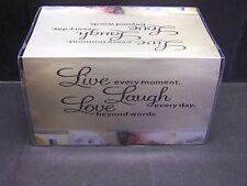 LIVE LAUGH LOVE #2   VINYL CHECKBOOK COVER