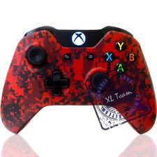 MICROSOFT XBOX ONE WIRELESS CONTROLLER - CUSTOM RED CAMO BRAND NEW