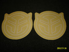 2 AUTHENTIC FEDERAL BMX BICYCLE FRAME STICKERS / DECALS #26 AUFKLEBER