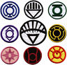 "3.5"" Blackest Night Lantern Corps Variant Style Patch Set - set of 9 patches"