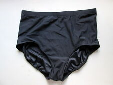 Macy's Swim Solutions Womens Tummy Control Swim Bottoms - Black - Sz 20W - NWT