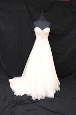 Justin Alexander 8869 Wedding Gown Bridal Dress sz 10