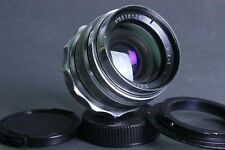 MIR-1 37mm f2.8 M42 wide angle lens Grand Prix Brussels + adapter Canon EOS