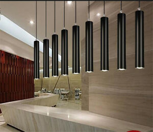 3W LED Modern Cylindrical Pendant Lamp Hanging Chandelier Fixture Lighting 1pc