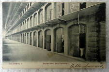 1907 POSTCARD BANKERS ROW OHIO PENITENTIARY COLUMBUS OHIO #CC5