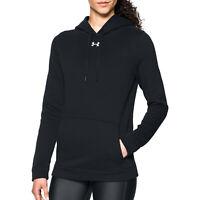 New With Tags Womens Under Armour Fleece UA Rival Hoodie Hoody Sweatshirt Top