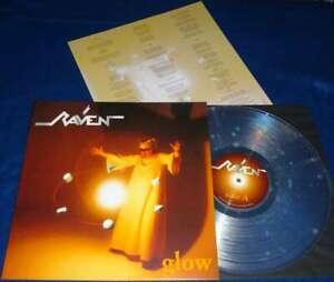 RAVEN- Glow LIM.+NUMB. NOTVD clear Vinyl NWoBHM legend RARE ALBUM
