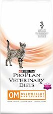 Purina Pro Plan Veterinary Diets Om Overweight Management Dry Cat Food 16 lb