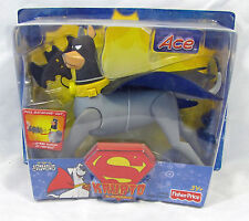 Krypto the Superdog Ace the Bat Hound Fisher Price NIP 5 inch 3+ S83-1