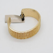 chico's jewelry gold tone openwork cuff bangle hammered bracelet for women