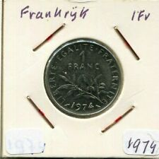 1 FRANC 1974 FRANCE French Coin #AM571CW