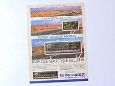 PIONEER KEH-9030 advert / Anuncio Publicidad Reklame Publicite Car Audio Spanish