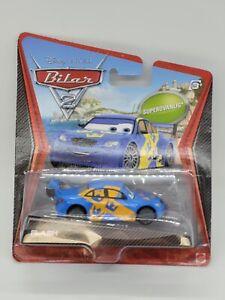 Disney Pixar Cars 2 Ultimate Super Chase Flash Jan Nilsson