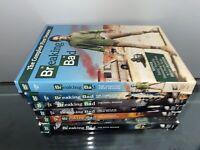 Breaking Bad Dvd Lot Season 1,2,3,4,5,6
