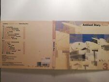 COMPILATION - ELEKTROLUX PRESENT AMBIENT DIARY THREE - DOPPIO DIGIPACK  CD
