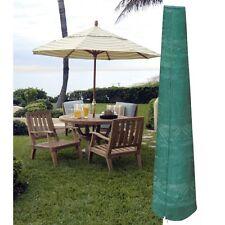 Garland Large garden patio Parasol Umbrella Cover Green with draw string neck