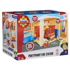 Fireman Sam Pontypandy Fire Station Playset NEW