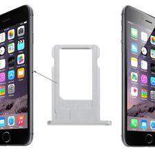 Support de carte sim adaptateur argent sim tray pour Apple iPhone 6 4.7 et 6 plus 5.5