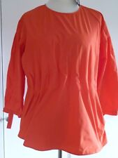 BNWT LADIES TOP WOMENS TOP MARKS AND SPENCER SIZE 18 ORANGE