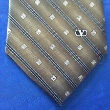 Classic VALENTINO GARAVANI Striped Silk Tie H. M. I .italy