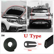 5M Car Door Trunk Seal Strip Rubber Weather Strip Edge Mouldings Trim O U-Shape
