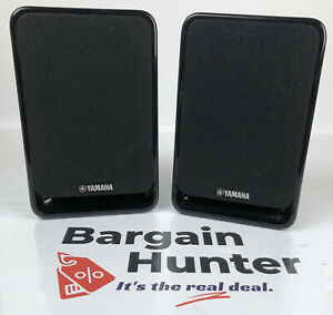 Pair of Yamaha NS-B20 Small Stereo Surround / Bookshelf Speakers - 2 Way