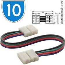 10x KANLUX électrique 4 sens Câble Fil joint LED RGB rayé Boîte à lumière