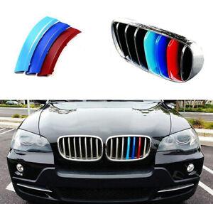 BizTech® Clip In Grill inserts Stripes For BMW X5 E70 X6 E71 E72 M Power Sport