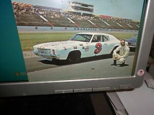 1971 Charlie Glotzbach No. 3 Chevrolet Vintage NASCAR Postcard...(Charlotte)