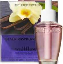 Bath & Body Works Black Raspberry Vanilla Wallflowers 2-Pack Refills ~ 10 Bulbs