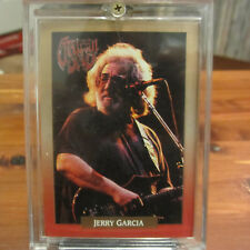 GRATEFUL DEAD-JERRY GARCIA 1991 Legacy Series Trading Card in screwdown case