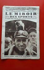 Le Miroir des Sports 378 du 1/07/1927