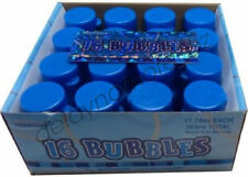 Glitz Blue 16 Party Bubble First Birthday Wedding Favour Treat Loot Bubbles 21st