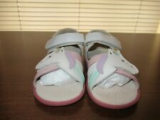 Sale $2 Off! Livie & Luca White Unicorn Sandals Nwob Size 12