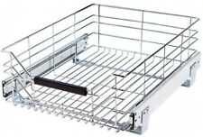 Seville Classics D Pull Out Sliding Steel Wire Cabinet Organizer Drawer Modern