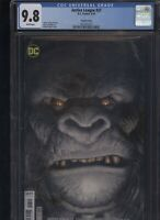 Justice League #27 CGC 9.8 amazing ART ADAMS gorilla variant YEAR OF THE VILLAIN