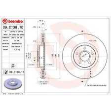 Brembo 2x disques de frein intérieure est aérée enduit 09.c138.11