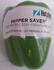 HUTZLER GREEN PEPPER SAVER SALAD PARTY STORE CUT VEGETABLES CONTAINER STORAGE