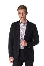 RRP €580 DIESEL Size 50 / L Men's J-DIOS-DE Contrast Denim Collar Blazer Jacket