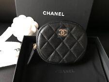 2ae2fe98d3c0 BNIB 19C 100%AUTH Chanel Black Caviar Leather O-coin Purse Goldtone HDW