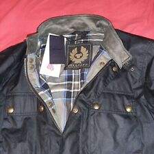 Belstaff Men's Waxed Cotton Trialmaster Jacket Large UK40