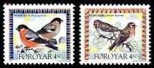 Faroe Islands 1997 Invasion Birds, Redpoll & Bullfinch MNH / UNM