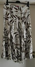 Ladies Monsoon linen skirt size 8