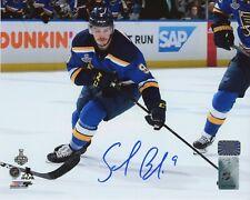 Sammy Blais St. Louis Bues Signed Autographed Stanley Cup Home Action 8x10