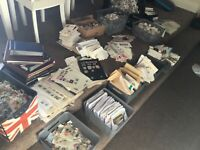 1kg+ GLORY BOX OF British world stamps LOTS OF STUFF the great sorter pax