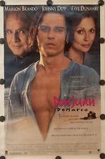 DON JUAN DEMARCO Original 27 x 41 DS/Rolled Movie Poster - 1995 - JOHNNY DEPP