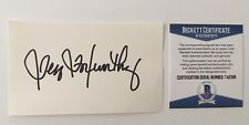 Jeff Foxworthy Signed Autographed 3x5 Card BAS Beckett Certified