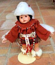 Vintage 1993 Danbury Mint Little Eagle Dancer By Elke Hutchens Porcelain Doll